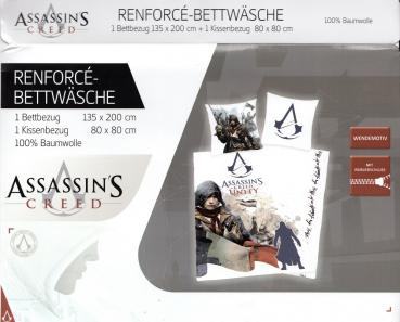 Herding Bettwäsche Assassins Creed - Kampf - 135x 200 cm + 80x 80 cm - Baumwolle