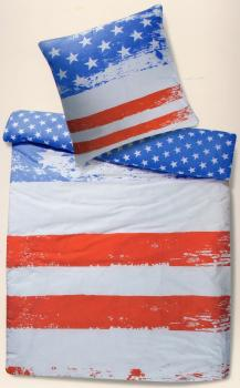 Bettwäsche Stars and Stripes - Flagge USA