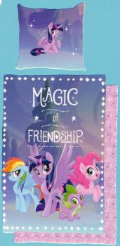 Bettwäsche My little Pony - Magic of Friendship - 135 x 200 cm - Baumwolle