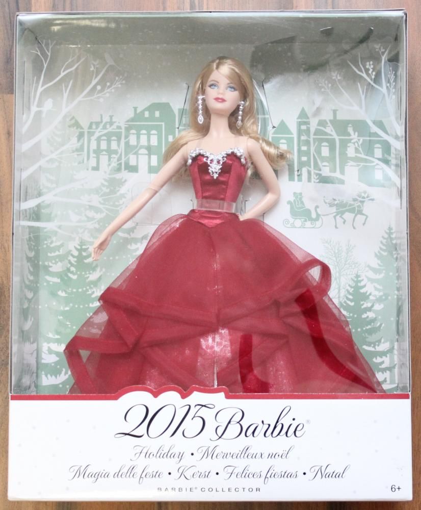 Barbie Collector 2015 Holiday Doll Mattel CHR76