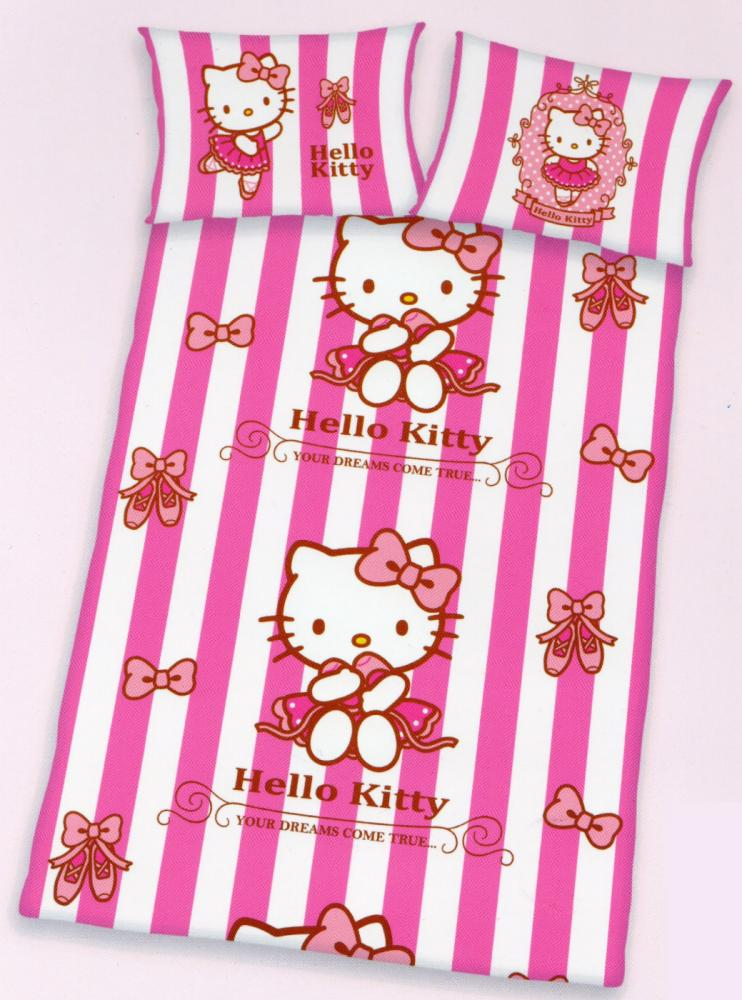 Baby Bettwäsche Hello Kitty - Dreams - 100 x 135cm + 40x 60cm - 100% Baumwolle