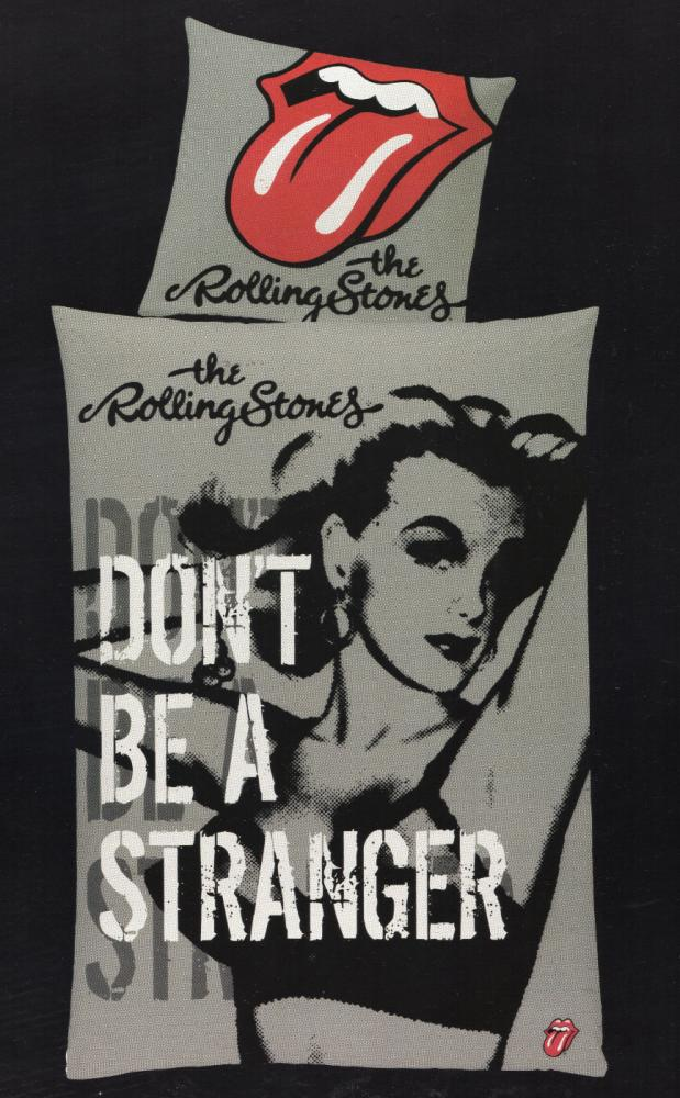 Bettwäsche The Rolling Stones - Don´t be a stranger - 135 x 200 cm - Baumwolle