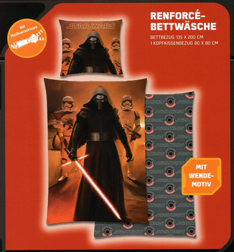 Disney Star Wars Bettwäsche Kylo Ren - Episode 7
