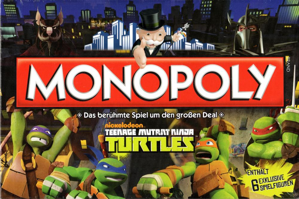 Monopoly Teenage Mutant Ninja TURTLES - Hasbro Brettspiel - deutsch - NEU+OVP