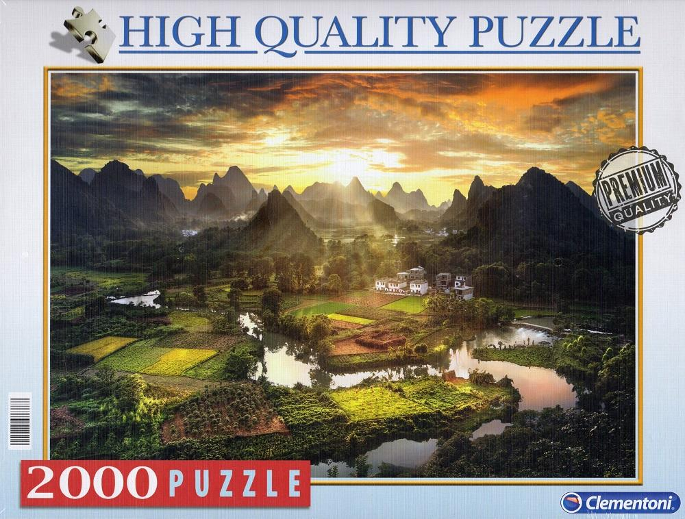 Clementoni Puzzle - View of China