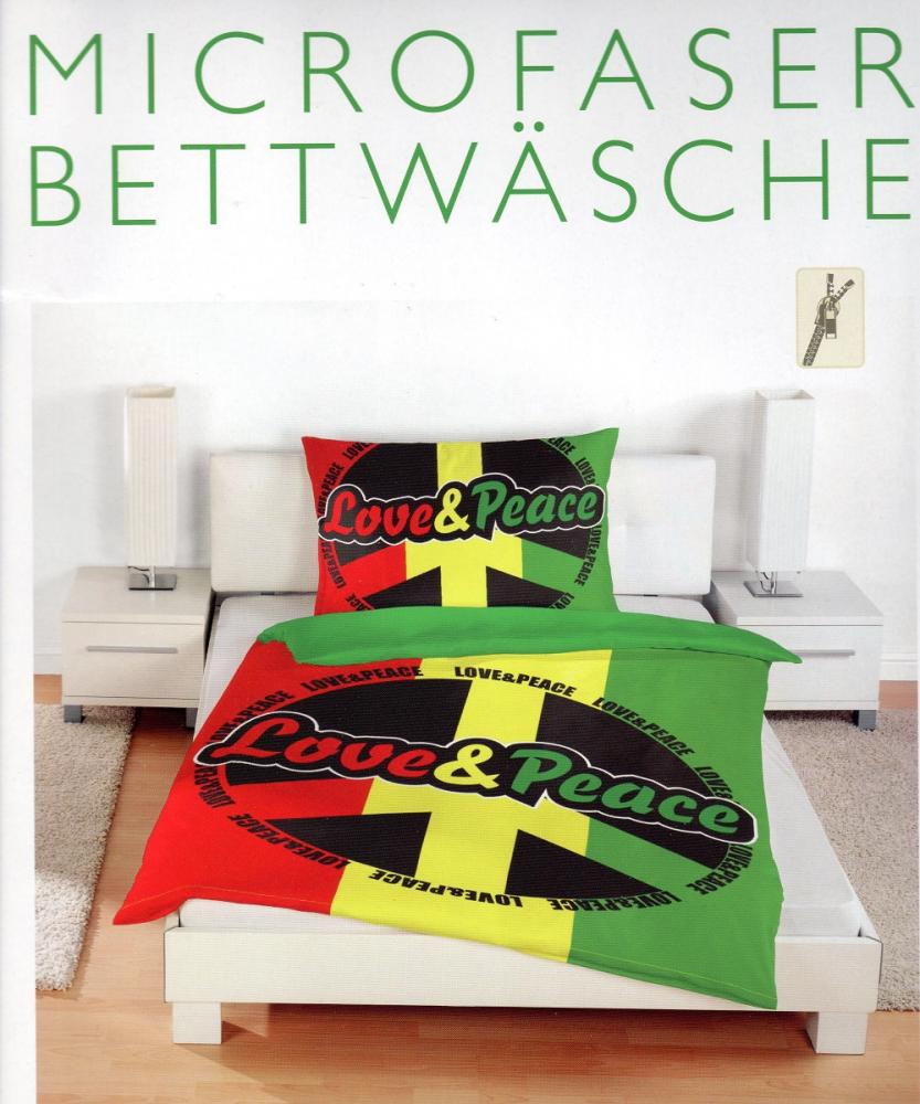 Bettwäsche Love & Peace