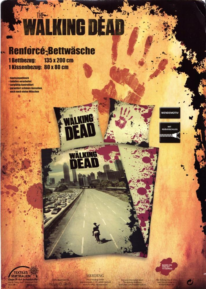 Bettwäsche The Walking Dead Reforcé